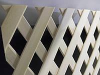 Решетка декоративная деревянная 8R  1200x620 мм(клен,ольха,дуб,бук)
