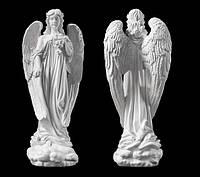 Скульптура ангела из искусственного мрамора № 6