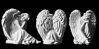 Скульптура ангела из искусственного мрамора № 9