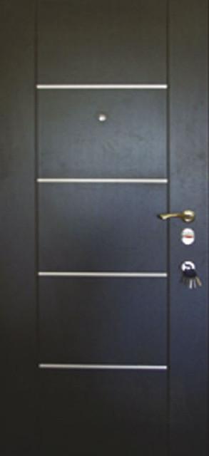 Двери входные с молдингом 109