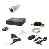 Комплект видеонаблюдения Tecsar 1OUT 1 Mp