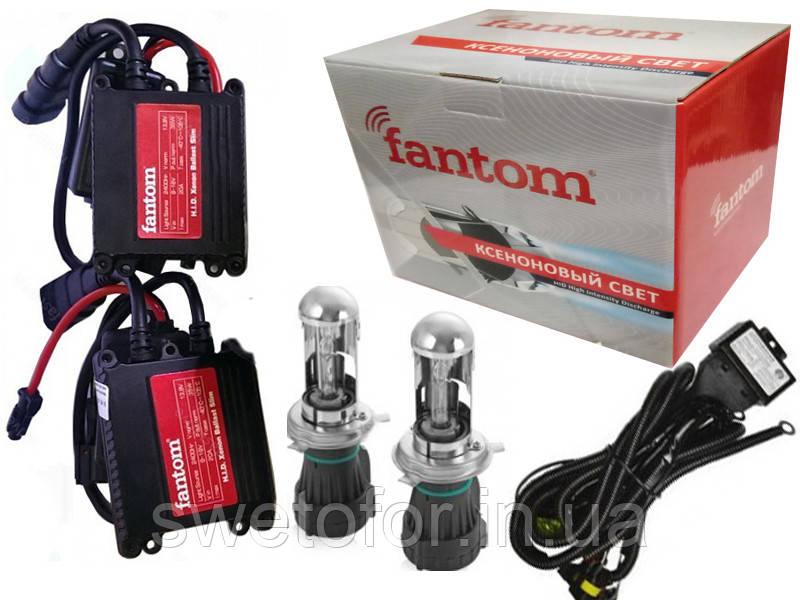 Комплект биксенона Fantom Slim AC 35W H4 4300K