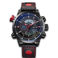 Weide WH3401 Leather Red