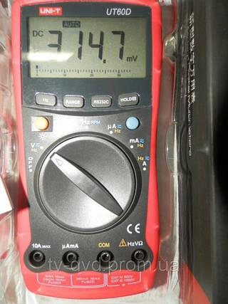 Цифровой мультиметр  тестер   UNI-T UT60D АВТОМАТ