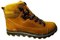 Мужские ботинки CAT польская кожа, мех Р. 41 42 43 44 45