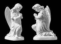 Скульптура ангела из искусственного мрамора № 19