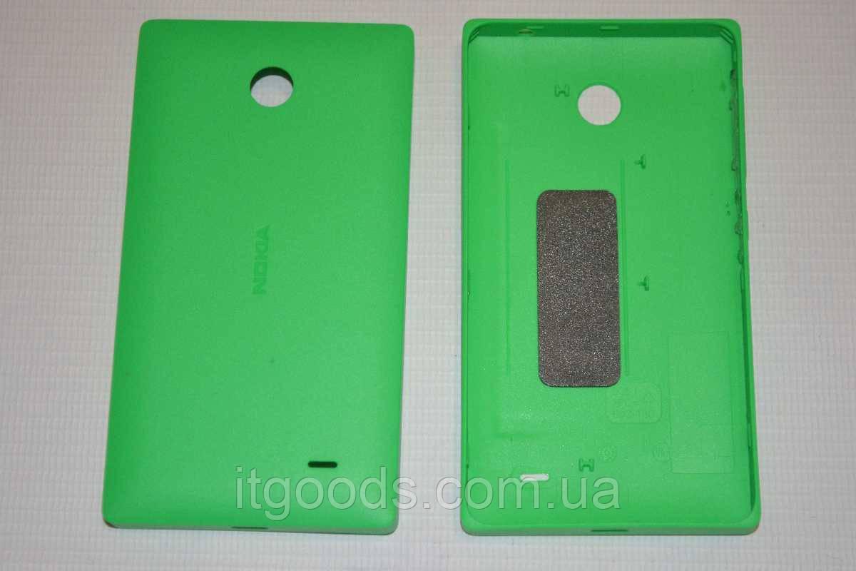 Задняя зеленая крышка для Nokia X Dual SIM