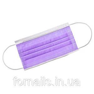 Защитная маска Fiomex,50 шт/фиолетовая
