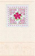 Набор-открытка для вышивки крестом «Розовая нежность»