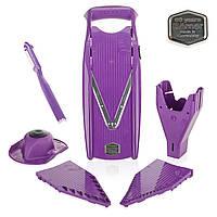 Овощерезка Прима (V-ПРИМА)  Börner фиолетовая + бокс для вставок в подарок!