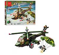 Конструктор «Brick» - «Военный вертолет»