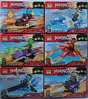 Конструкторы серии NINJAGO, 40-44 деталей