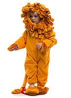 Костюм Льва. Для детей от 0,5 до 2,5 лет. В комплект входит: комбинезон, шапочка и тапочки.