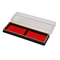 Футляр для ручек пластиковый двойной 16,3х5х2 см