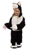 Карнавальный костюм Котика. Для детей от 0,5 до 2,5 лет. В комплект входит: комбинезон, шапочка и тапочки.