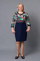 Женское платье увеличенного размера