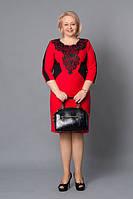 Очень красивое платье с ажурными вставками