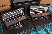 Тени для бровей - MAC LOOK Brow Shader c зеркалом и кистью для бровей