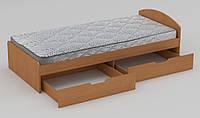 Кровать 90+2 (944*2042*650Н), фото 1