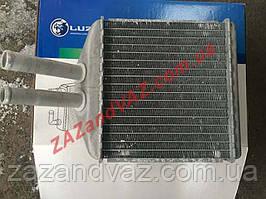 Радиатор отопителя печки Нубира Nubira Luzar Россия алюминиево-паянный LRh CHLs97149