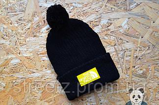Зимова шапка з бубоном The North Face ( різні кольори ), фото 2