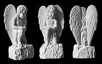 Скульптура ангелочка из искусственного мрамора № 2
