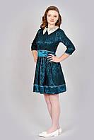 Платье с воротником для девочки-подростка