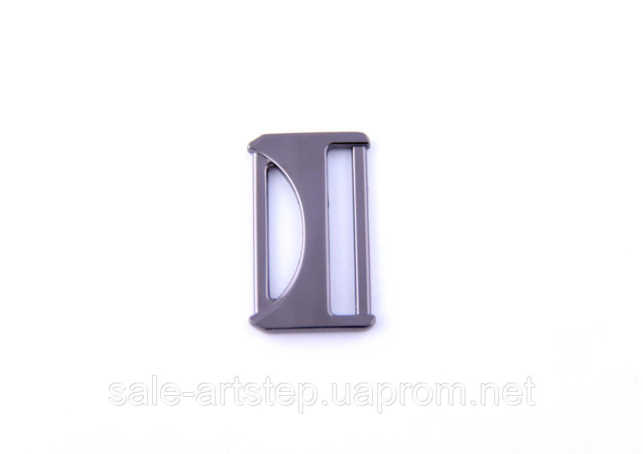 Рамка декоративно-рабочая 15/25 мм темный никель