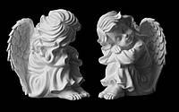 Скульптура ангелочка из искусственного мрамора № 5