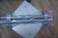 Ручка для пластиковой офисной двери 500 мм. серая