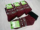 Женские махровые носки зимние с отворотом ТОП-ТАП Житомир Украина 23-25 размер   НЖЗ-01365, фото 5