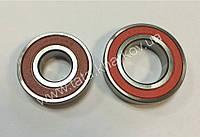 Подшипники сцепления  2шт. (6006RS+6204RS) на мототрактор 12-15л.с.