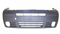 Бампер передний под противотуманки Renault Trafic 2001->2006,Nissan Primastar 7700313259