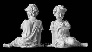 Скульптура ребенка из искусственного мрамора № 1
