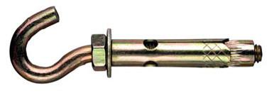 Анкер распорный 8х85 с С-крюком (полукольцом)