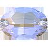 Овалы пришивные хрустальные Preciosa (Чехия)  10х7 мм, Crystal AB