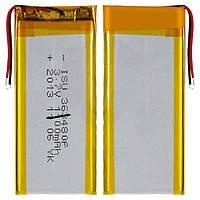 Батарея (АКБ, аккумулятор) для китайских мобильных телефонов, универсальная (1050mAh), (80*34*3,6 мм),