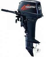 Tohatsu M18 E2S - мотор лодочный двухтактный Тохатсу 18