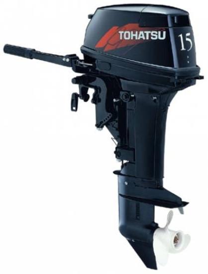 Tohatsu M15  - мотор лодочный двухтактный Тохатсу 15