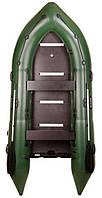 Bark BN-360S - лодка надувная килевая моторная Барк 360 с жестким фанерным настилом