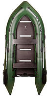 Bark BN-390S - лодка надувная килевая моторная Барк 390 с жестким фанерным настилом, фото 1