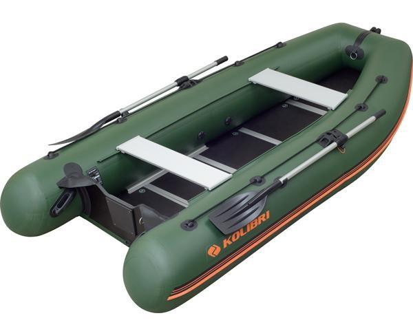 Kolibri KM-330DSL — лодка килевая моторная Колибри 330 ДСЛ с жестким настилом