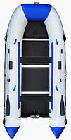 Aqua Storm stk-400Е Evolution - моторная килевая лодка Шторм 400 с фанерным настилом