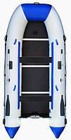 Aqua Storm stk-450Е Evolution - моторная килевая лодка Шторм 450 с фанерным настилом
