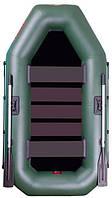 Catran C-245L - лодка надувная гребная двухместная Катран 245 с поворотными уключинами и ковриком