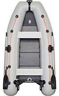 Kolibri KM-330DL – лодка надувная килевая моторная Колибри 330 DL с фанерным настилом, фото 1