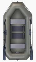 Aqua Storm sto250 - лодка надувная двухместная Шторм 249 с реечным ковриком, фото 1