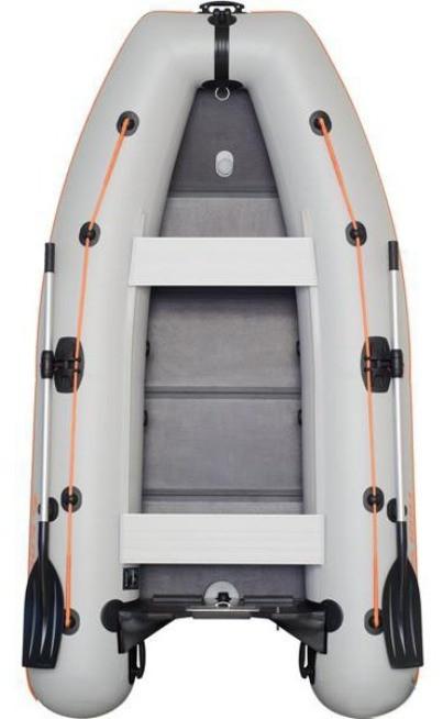 Kolibri KM-280DL - лодка надувная килевая моторная Колибри 280 DL с фанерным настилом