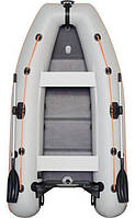 Kolibri KM-280DL - лодка надувная килевая моторная Колибри 280 DL с фанерным настилом, фото 1