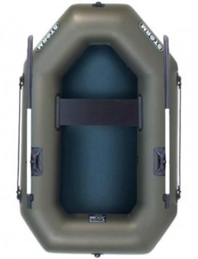 Aqua Storm st190u уключины - лодка надувная одноместная Шторм 190 с веслами